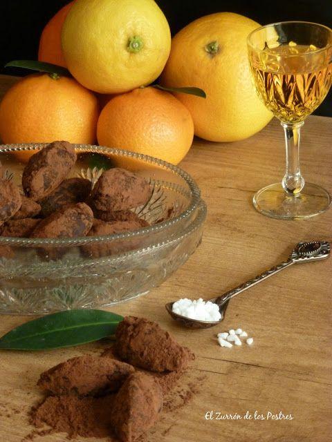 Trufas de Chocolate y Cítricos