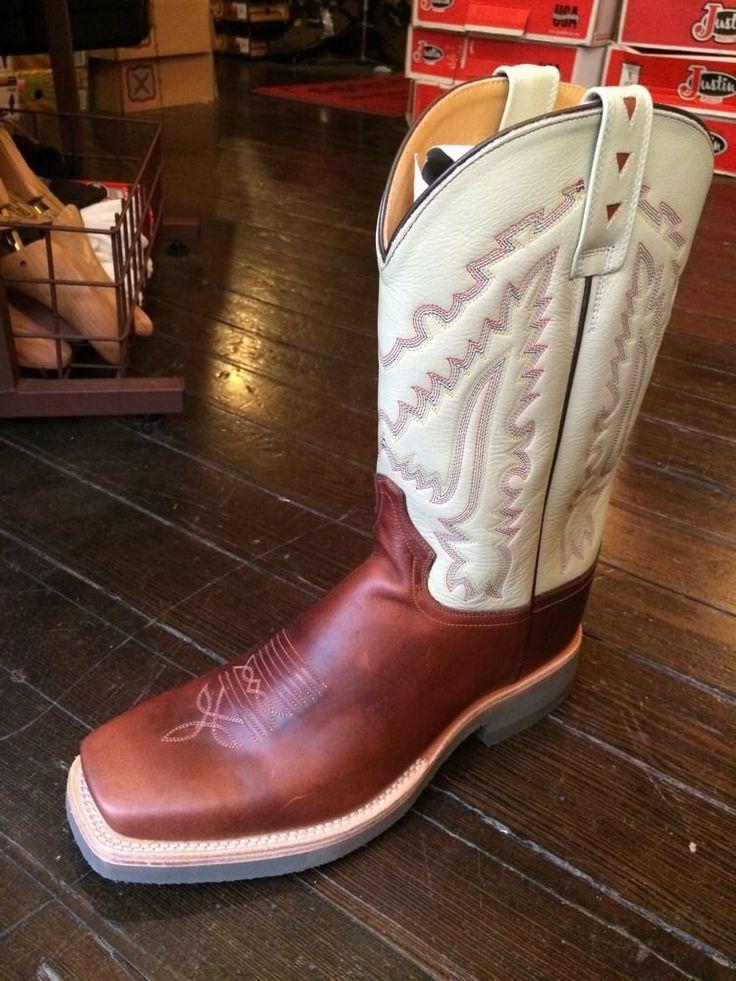 Mens Western Boots 9.5 EE SQC1852  | eBay