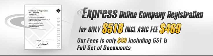 Express Company registers your proprietary company and the most reasonable price providing you peace of mind that you are dealing with ASIC approved online software which has registered more than 50,000 companies. Along with getting your company documents by email we also provide you with an option of a print version on a professional leather feel folder. Make Express Company your choice when you want to commence your very own proprietary company in less than 20 minutes.
