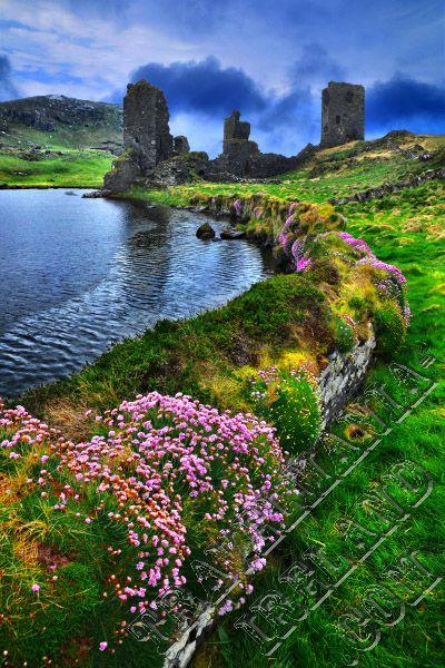 Dunlough or Three Castles Head Ruins, Co.Cork