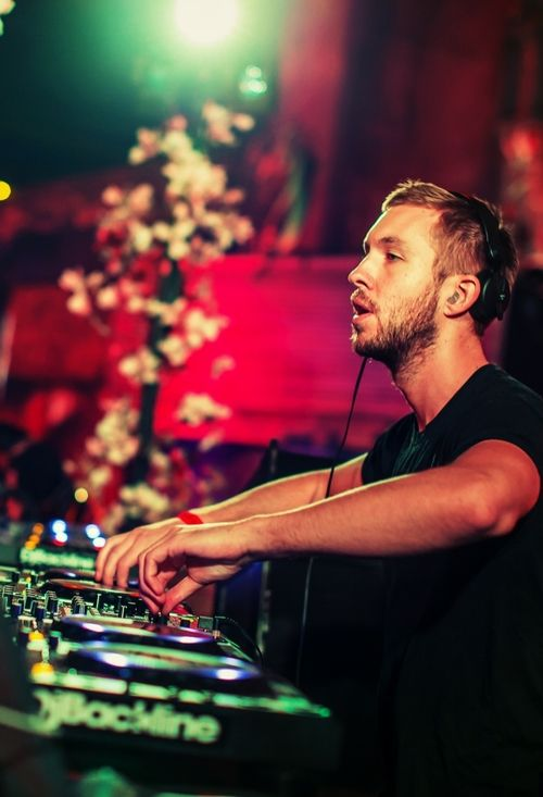 Calvin Harris - saw Calvin support Faithless at Wembley Arena he was ace back then but not so keen on him now ;)