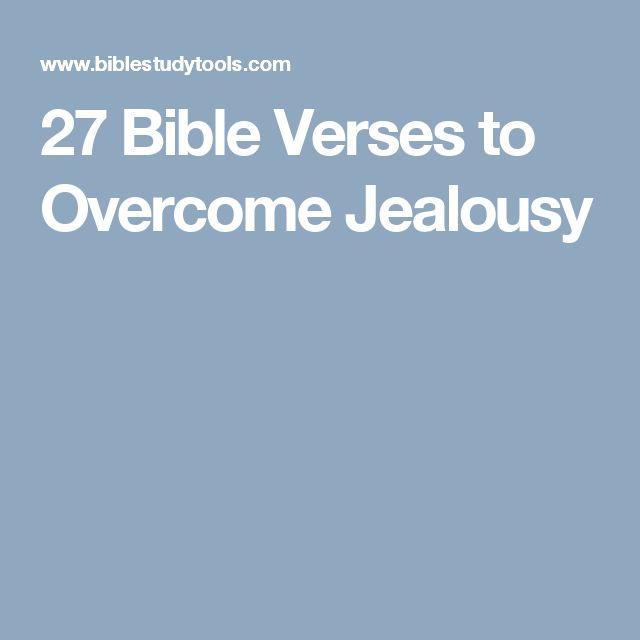 Jealousy - Bible Study Tools