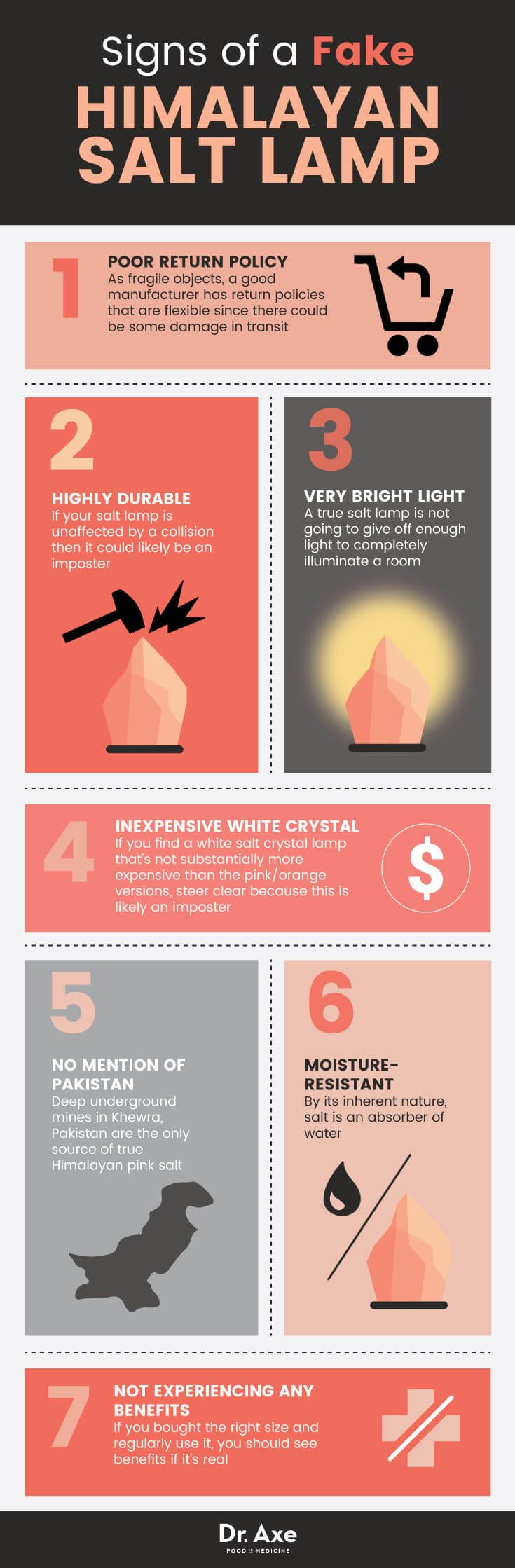 Fake Himalayan salt lamp signs - Dr. axe http://www.draxe.com #health #holistic #natural