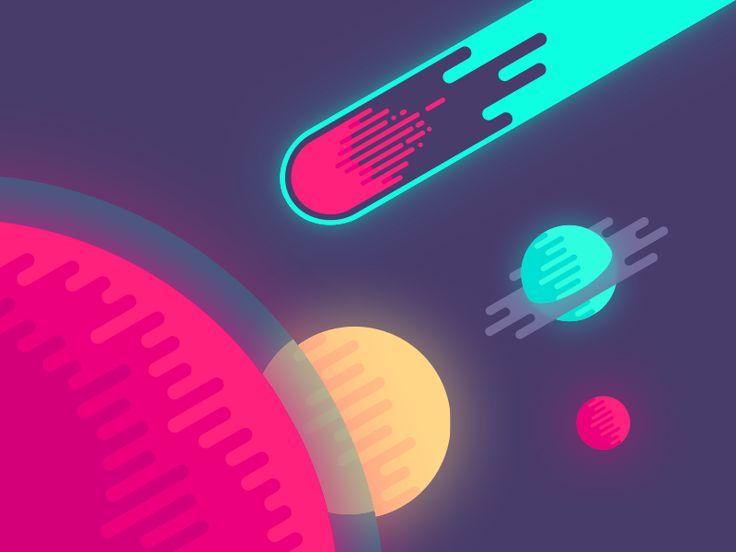 Meteor by Nina Geometrieva