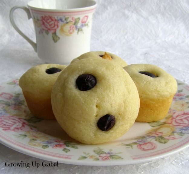 Mini Blueberry Pancake Cups From Growing Up Gabel @Shelly Gabel