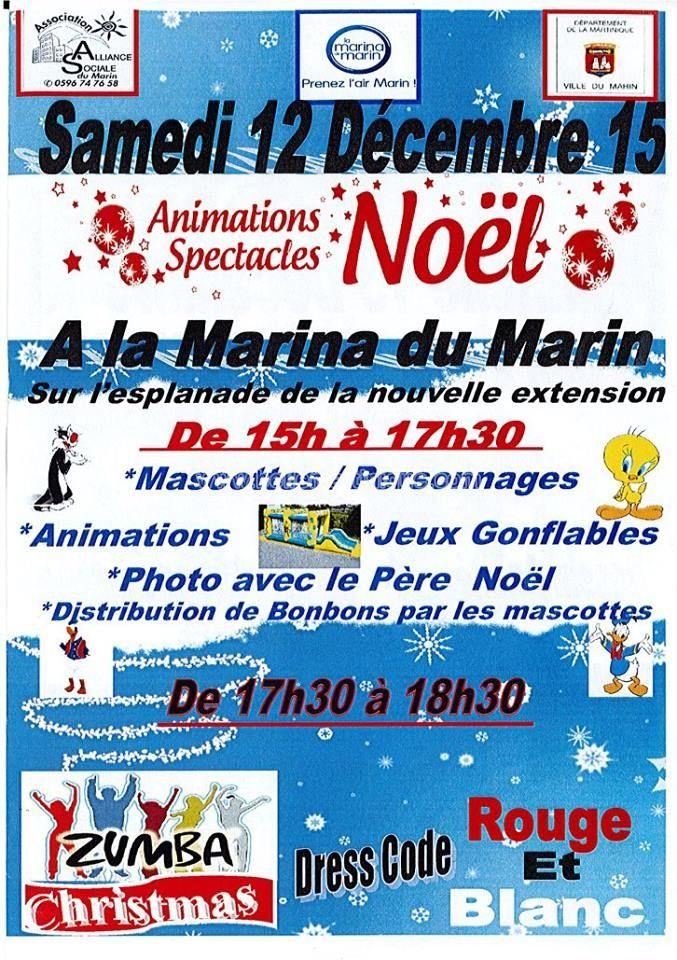 Animations et spectacles de Noël