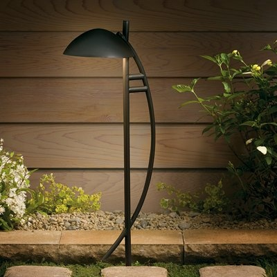 Kichler contemporary arch path and spread contemporary outdoor lighting the deck store online