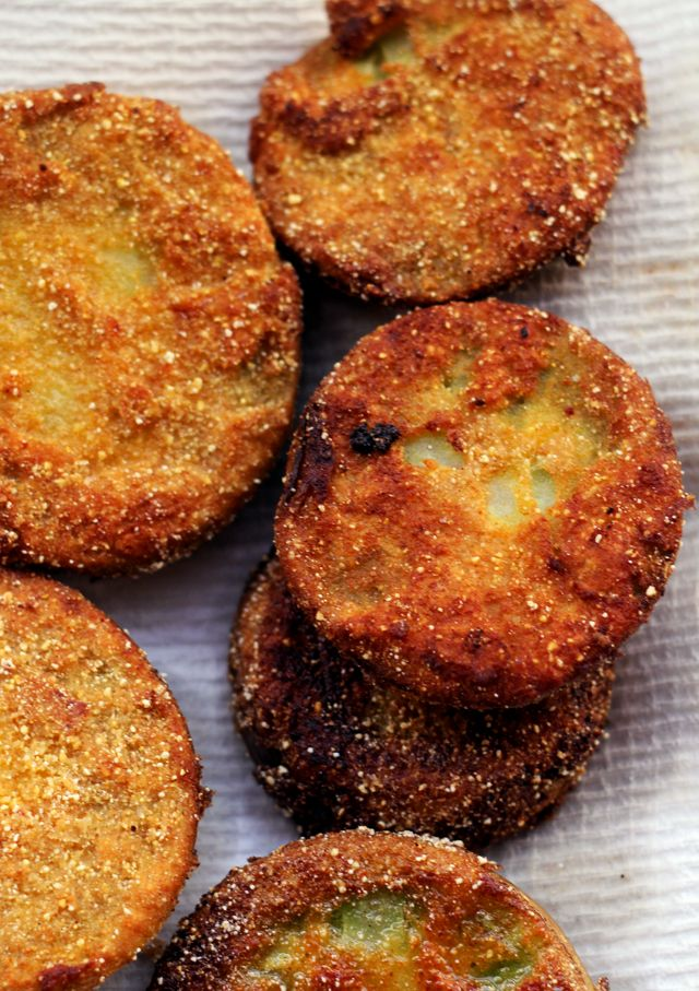 ... about Fried Green Tomatoes on Pinterest | Green, Lighter and Bacon