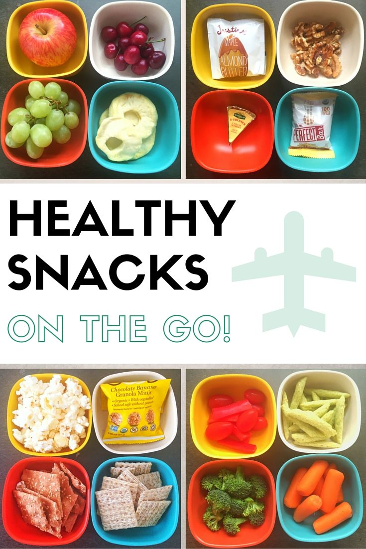 How to snack healthy on the road. Mom's Kitchen Handbook