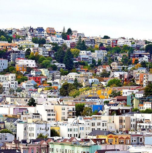 SF: Favorite Places, Noe Valley, Sanfrancisco, Beautiful, Places I D, Travel, Eureka Valley, San Francisco