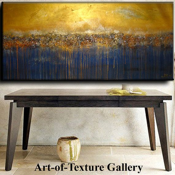 Abstract Painting 70 x 30 HUGE Original Abstract Texture