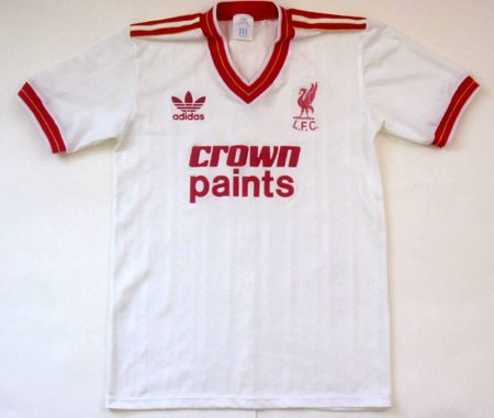 Eighties Liverpool Away Shirts | Retro Football Shirts