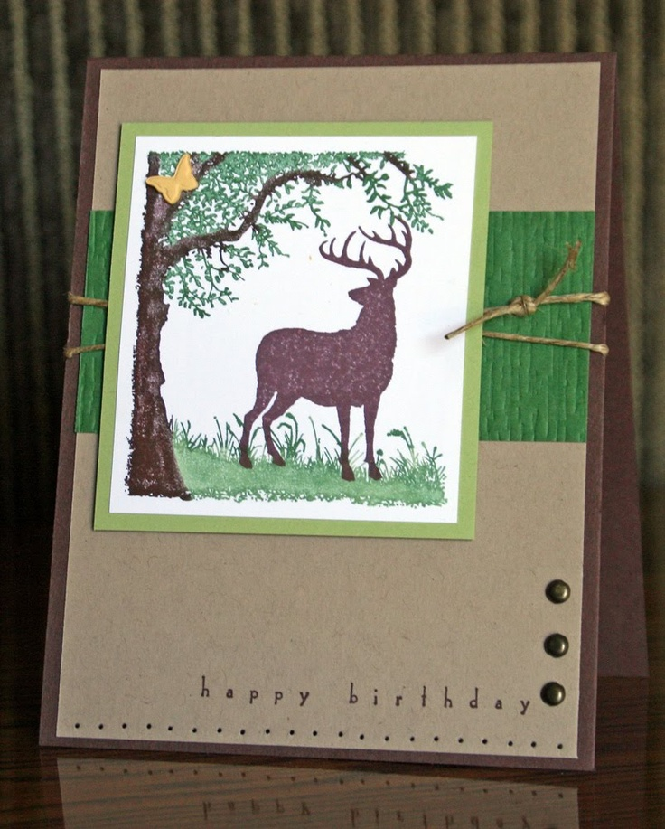 326 best stampin up masculine cards images on pinterest stampin up card by krystal de leeuw at krystals cards and bookmarktalkfo Choice Image