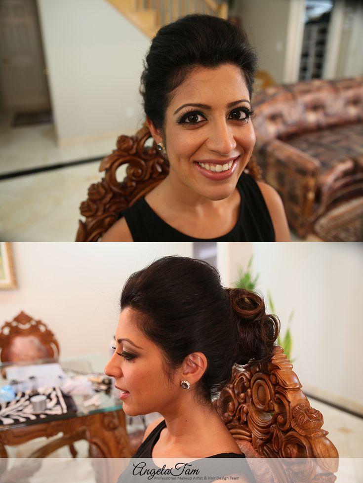 LOS ANGELES INDIAN WEDDING SOUTH ASIAN BRIDE MAKEUP ARTIST   RITIKA KAUR   ANGELA TAM >> WEDDING MAKEUP AND HAIR TEAM