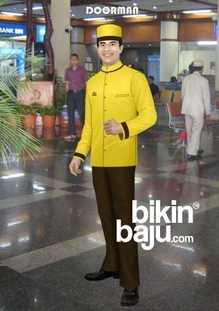 model seragam karyawan hotel doorman, model baju seragam karyawan hotel berbintang di surabaya, model baju seragam karyawan hotel berbintang di malang