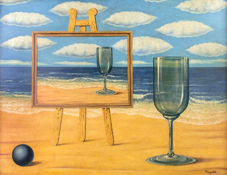 René Magritte - Untitled, nd.