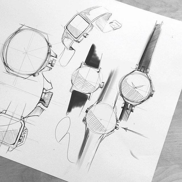This is meditation for me: Pen on paper. Nothing else will relax me and disconnect my thoughts like 15 minutes of sketching. #watches #watches #watchporn #watchaday #wristporn #wristgame #wristie #style #mensstyle #rolex #timegeek #timepiece #doodle #design #industrisldesign #id #idsketching #sketch #sketchbook #sketchaday #pengame #ink #fashionsketch #illustration #moleskine #art #artsy #moleskin #drawing