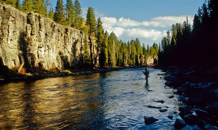 Box Canyon on the Henry's Fork River in Idaho Catch Magazine - Fly Fishing Video - Film - Photography