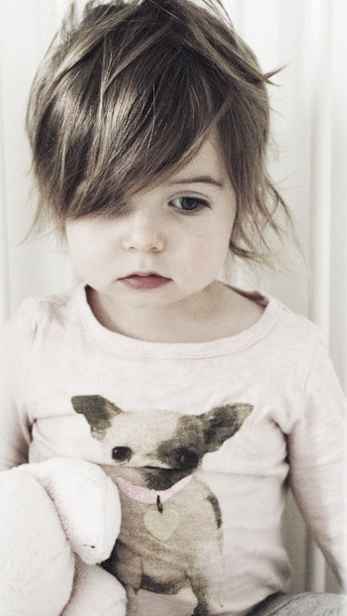 Kurzhaar Süße Frisuren für kurze Haare für kleine Mädchen #Süße