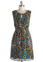 Tulle Clothing Optical Opportunity Dress | Mod Retro Vintage Dresses | ModCloth.com