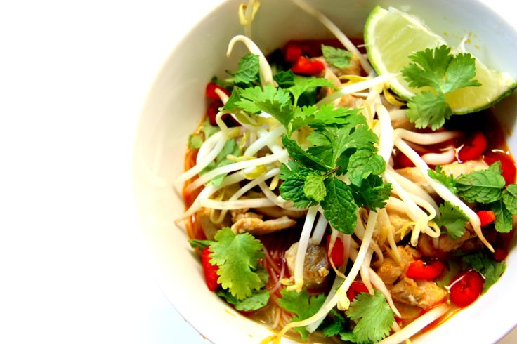 Delicious Gluten Free Chicken Laksa Recipe - let your taste buds come to life!