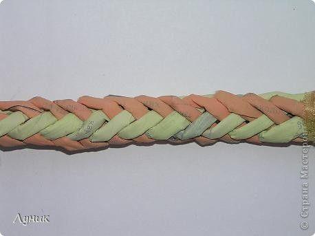 Круглая косичка для плетёнок - Ручки