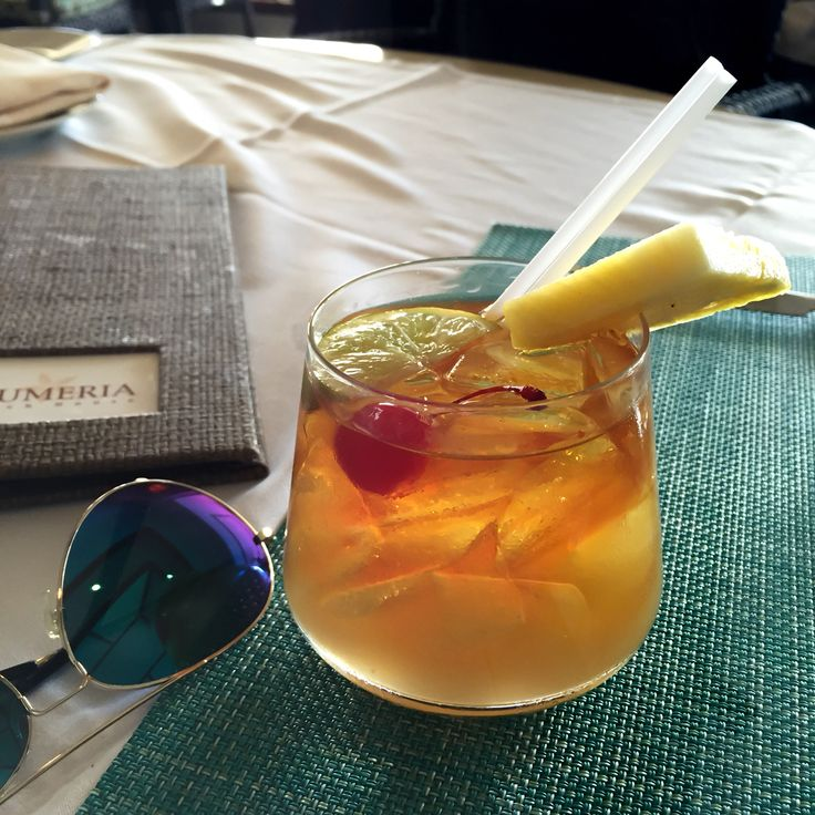 The perfect Mai Tai to start the vacation