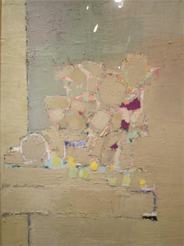 Flowers, 1953 Nicolas de Stael