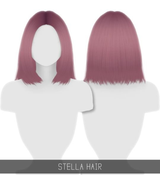 Sims 4 CC's - The Best: STELLA HAIR by simpliciaty-cc