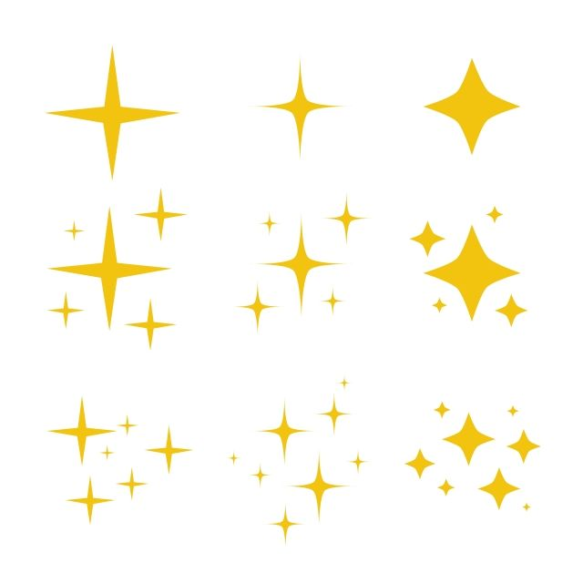 Sparkling Symbol Vector Starter Icons Shiny Stars Flash Decoration Twinkle Glowing And Bursts Vector Star Clipart Black Icons Flash Icons Png And Vector Wit Sparkle Png Star Clipart Holiday Icon