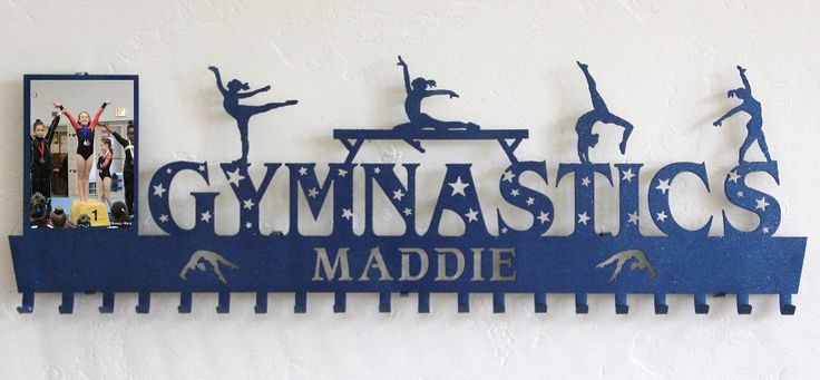 Gymnast Awards Rack: Personalized Gymnastics Medals Holder: Gymnastics Medals Hanger #anniversay-plaque #fencing-medal-holder #gymnastics-awards-display #gymnastics-medal-hanger #gymnastics-medal-holder #gymnastics-medals-display #medal-display #medal-hanger #medal-hanger-gymnastics #medal-hangers #medal-holder #medal-holder-gymnastics #medal-holder-wrestling #personalized-gymnastics-medal-display #personalized-plaque #trophy-shelf-personalized #wall-plaque #wrestling-medal-display…