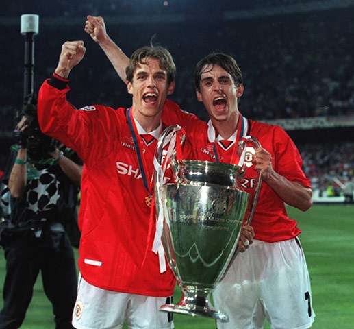 ~ Gary and Phil Neville on Manchester United ~