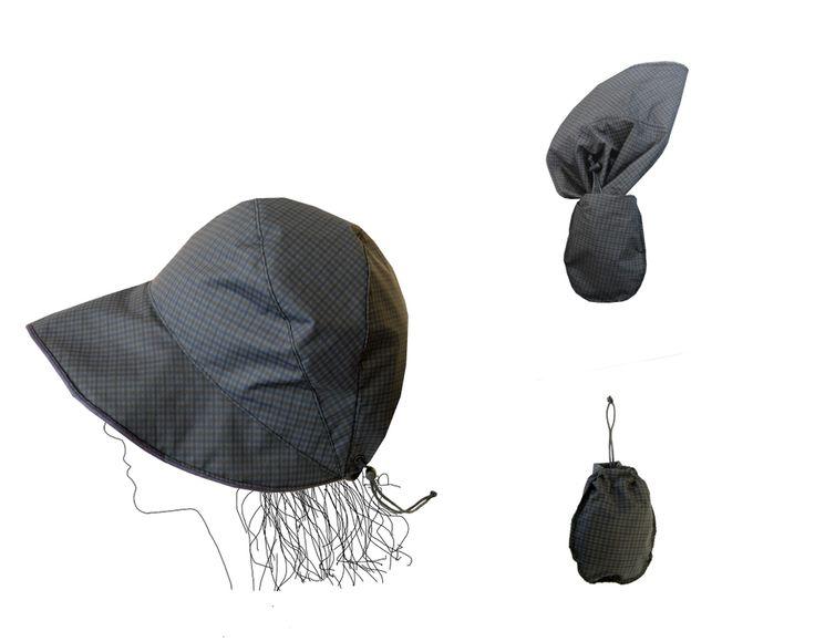 Image of chapeau de pluie imperméable- Chapluie