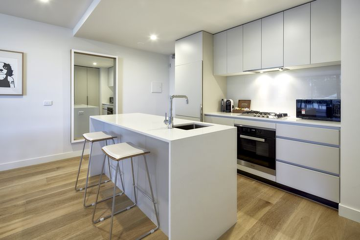 As a new architecturally designed property, the kitchens are equipped with state of the art appliances including a pod style coffee machine and milk frother.