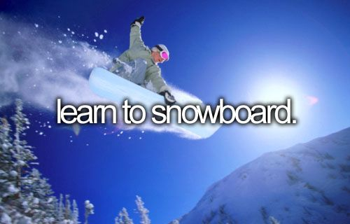 If we actually get snow this winter, this should happen.