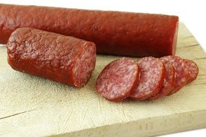 Venison Sausage And Seasoning Mix from CDKitchen.com Do Not use Accent, No MSG  Cut back red pepper and salt by half. Good recipe
