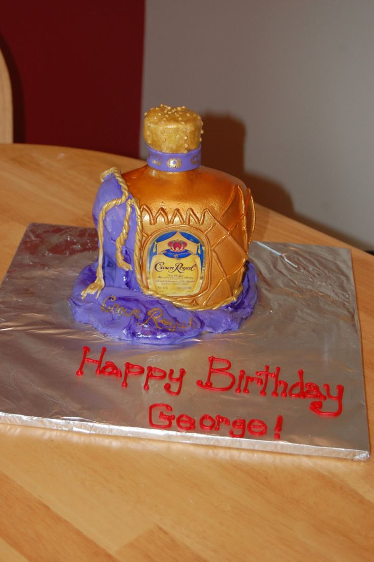 Cake With Crown Royal : 1000+ ideas about Crown Royal Cake on Pinterest Royal ...