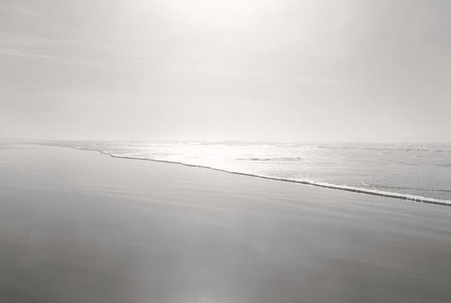 """Robert Adams, Nehalem Spit, Tillamook County, Oregon, from the series """"Sea Stories, This Day,"""" 1999-2009."""