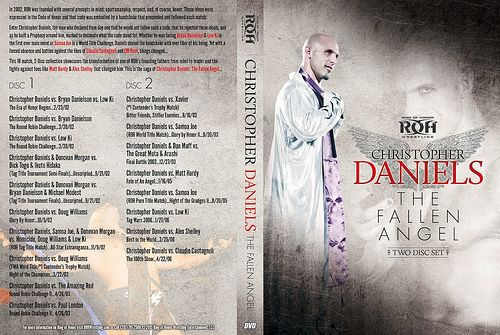 "ROH DVD ""CHRISTOPHER DANIELS:The Fallen Angel"""