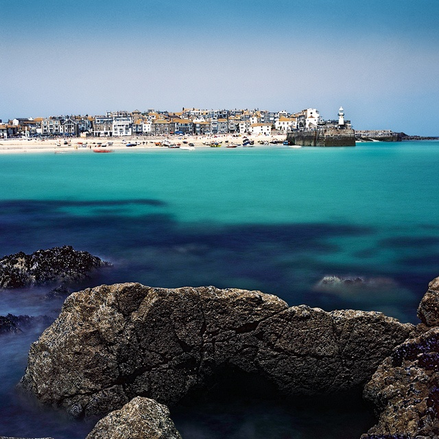 One of the most beautiful places I've ever been; St. Ives, England.