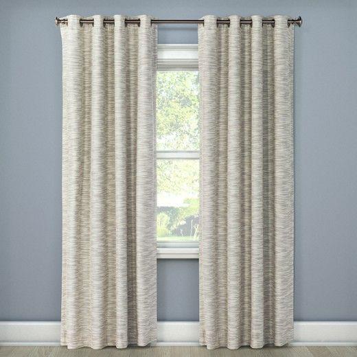 Tara Stripe Light Blocking Curtain Panel - Eclipse™ : Target