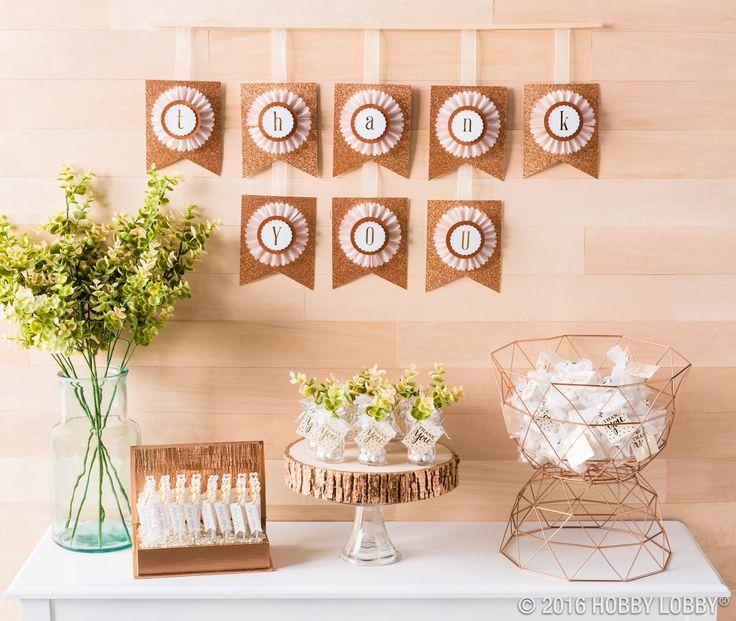 Hobby Lobby Wedding Ideas