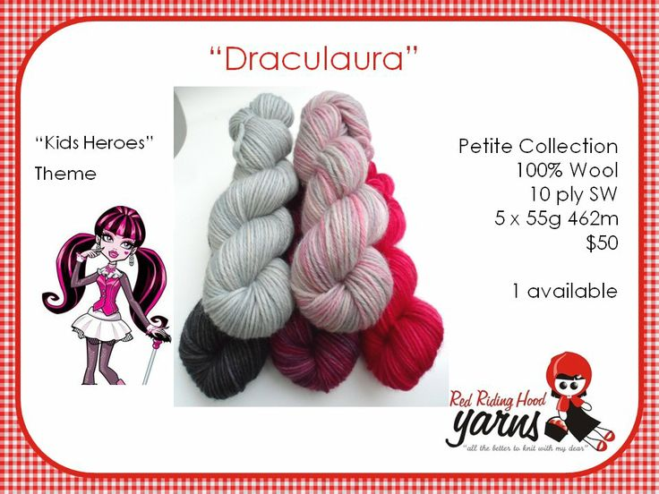Draculara - Kids Heroes | Red Riding Hood Yarns
