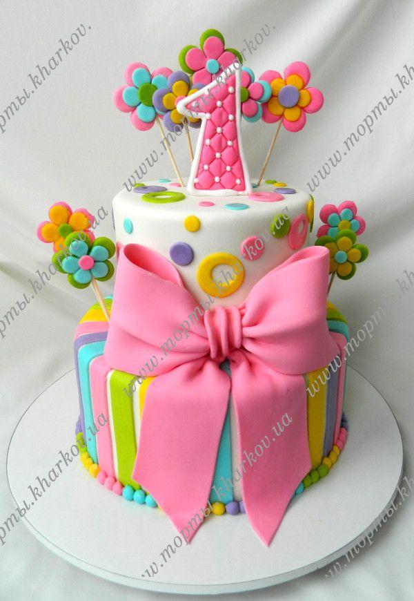 Красивые торты на 1 годик фото