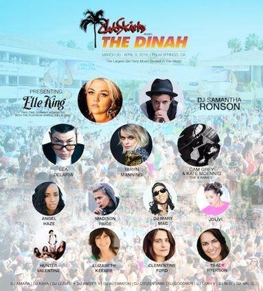 The 2016 Dinah Line-Up: DJ Taryn Manning, Kate Moennig