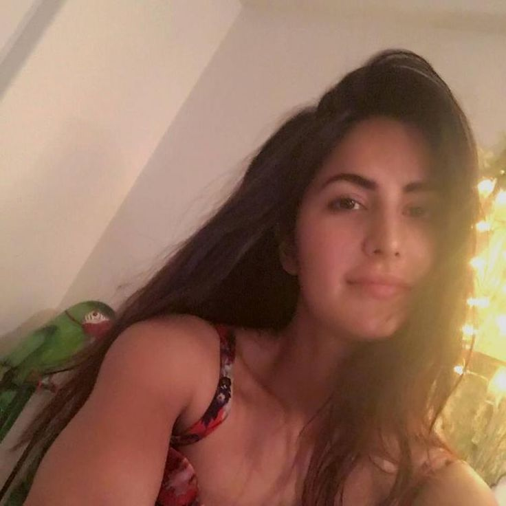 Lookit! Katrina's new pet is as adorable as her early morning selfie!