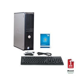 overstock this dell desktop computer comes with an intel core 2 duo 316ghz processor 4gb of ddr2 memory 1tb hard drive dvdrw optical drive and the