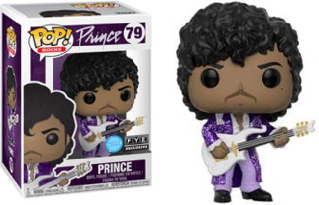 pop Funko Vinyl Prince Diamond Glitter Pop Purple Rain