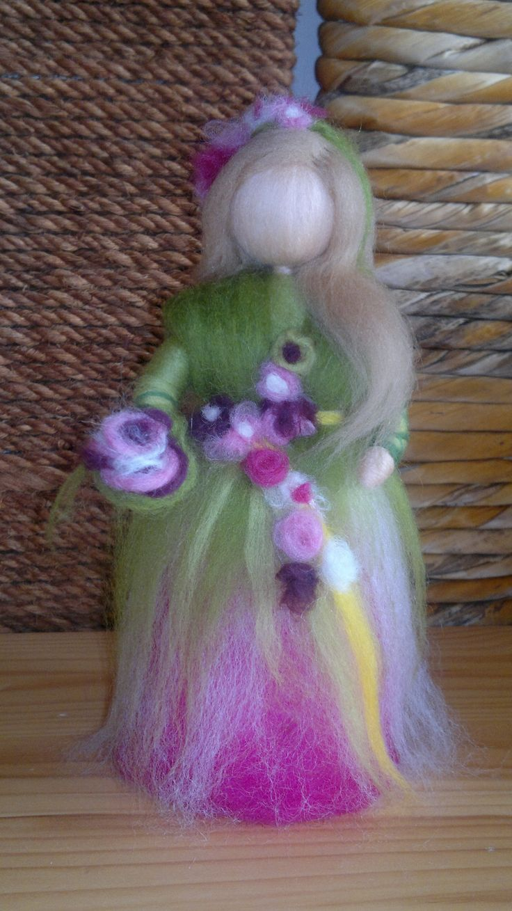 Spring Woolfairy, Seasonal table, Home Decor, Waldorf inspired