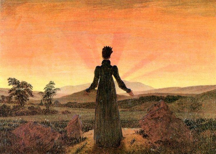More Caspar David Friedrich--I love the evocative imagery